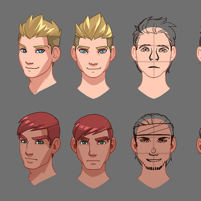 Faces (non-anime style example)